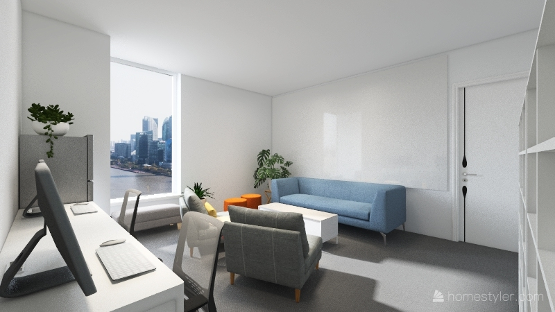 New Registrar Room v3 Interior Design Render