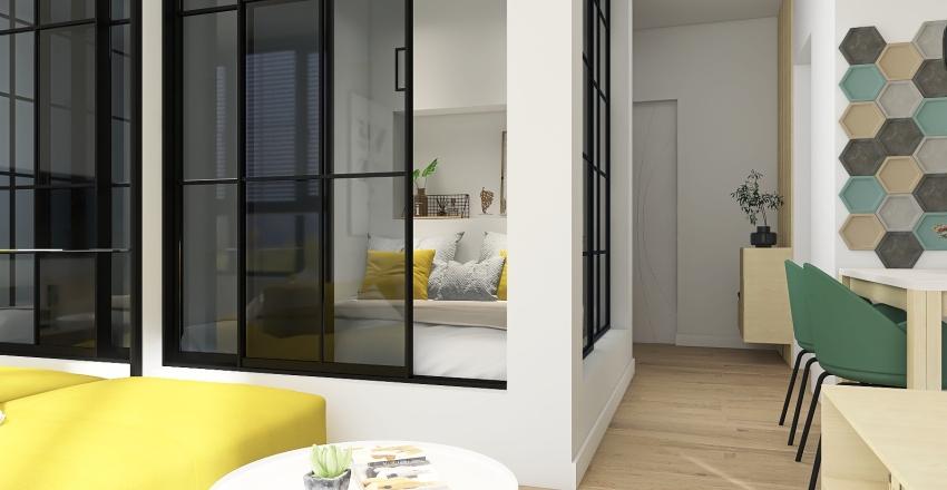 Modern in  37.68㎡   Interior Design Render