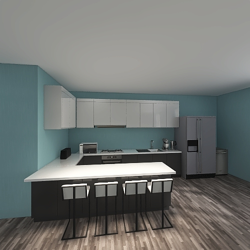 Sapphires house 2 Interior Design Render