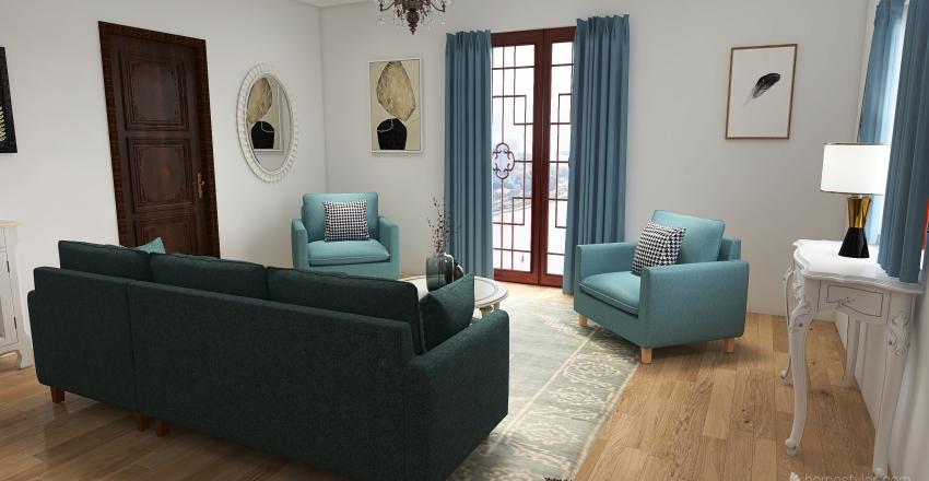 petite maison bourgeoise Interior Design Render