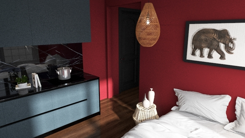 276 Apartment  Interior Design Render