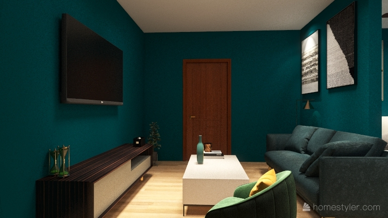 Apartment Interior Design Render