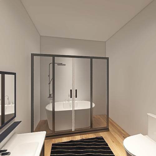 Studio Apartment Interior Design Render