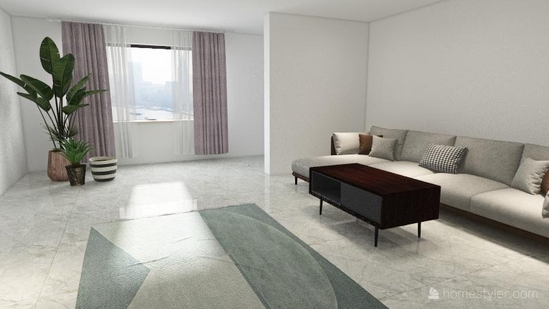 Good looking home Interior Design Render