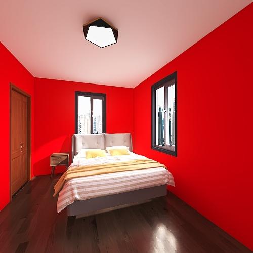 Studio Apartment Project Interior Design Render