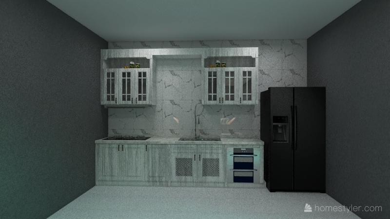 Rustica e moderna Interior Design Render