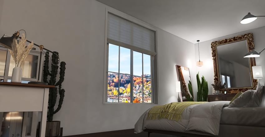 Small Apartment- Interior Design Interior Design Render