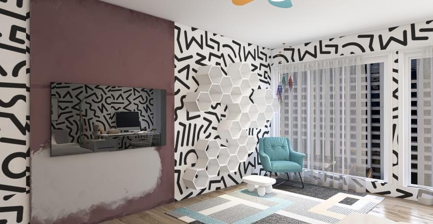 colllege apart Interior Design Render