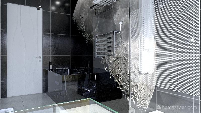 Solar System Flat Interior Design Render