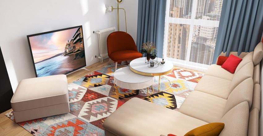 Appartement ARTY Interior Design Render
