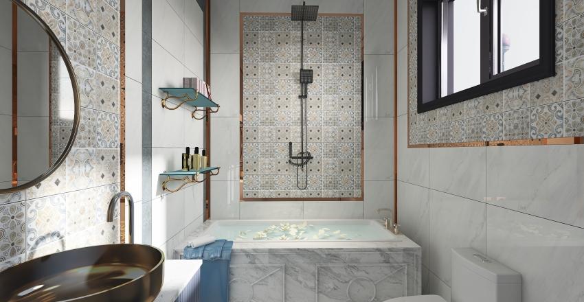 Copy of bathroom Interior Design Render