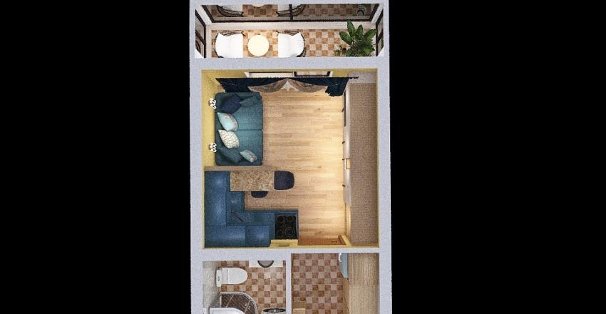 studio for Zverusha Interior Design Render