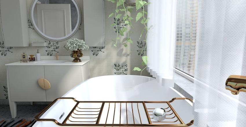 A room for Greta.  The concrete challenge. Interior Design Render
