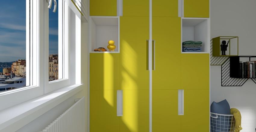 Minerva Apartment Interior Design Render