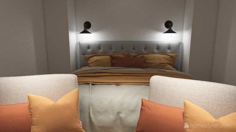Cosy Boho Home  3-16-2021 Interior Design Render