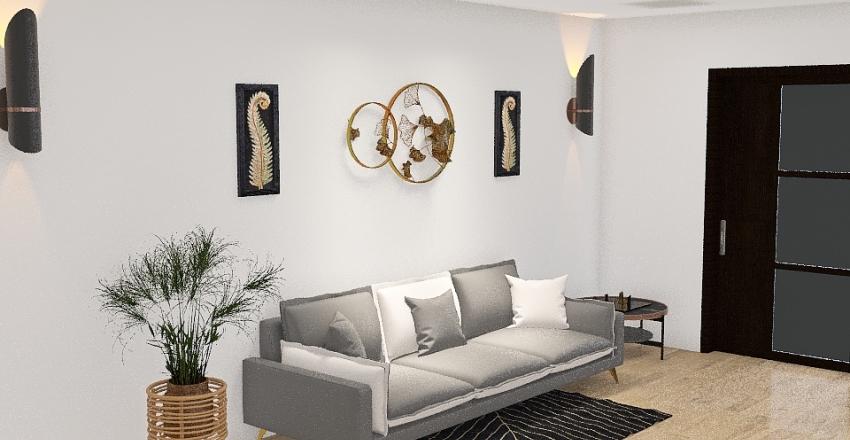 Pied-a-terre MIlano Interior Design Render