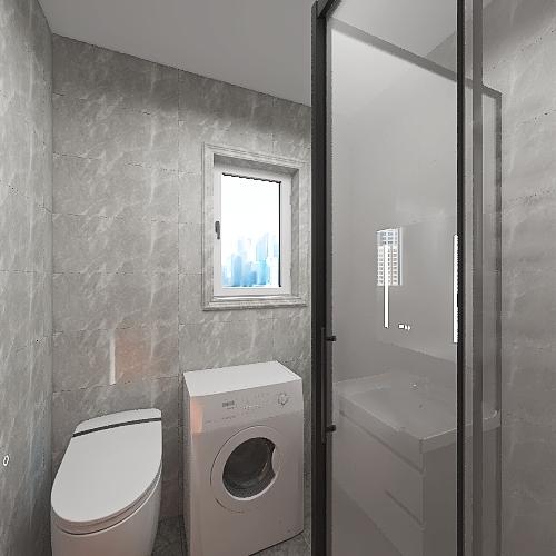 Łazienka 3 Interior Design Render