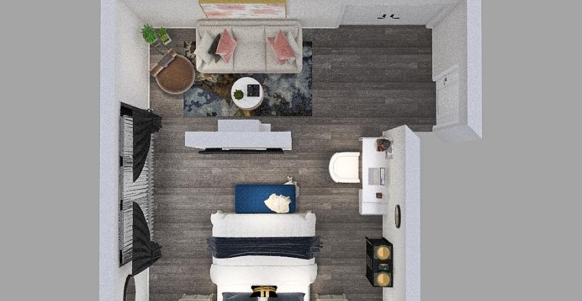 Final Bedroom Plan Interior Design Render
