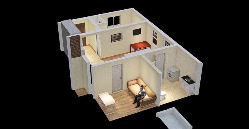 Cottage-2021-06-25 Interior Design Render