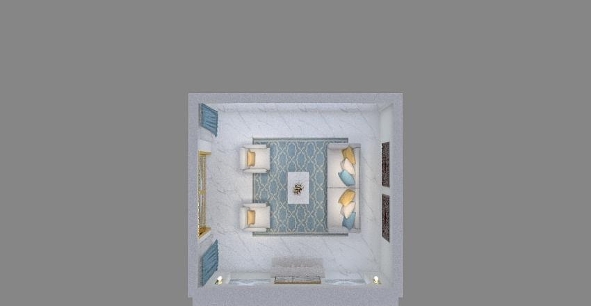 Islamic living room Interior Design Render