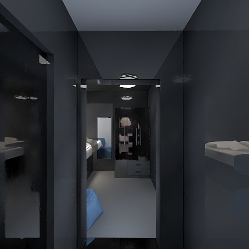 Mirror Loft Interior Design Render