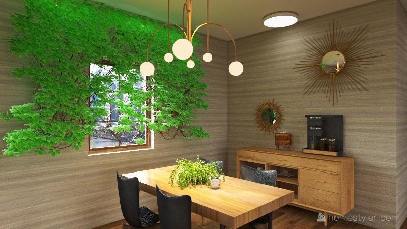 adding a floor each week Interior Design Render