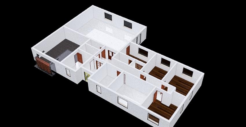 S garazi Interior Design Render