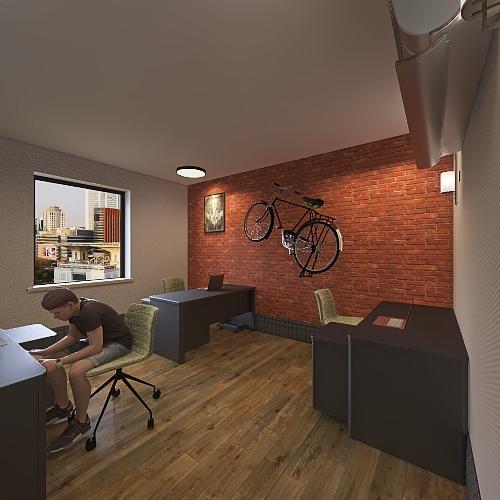 Copy of commercial Interior Design Render