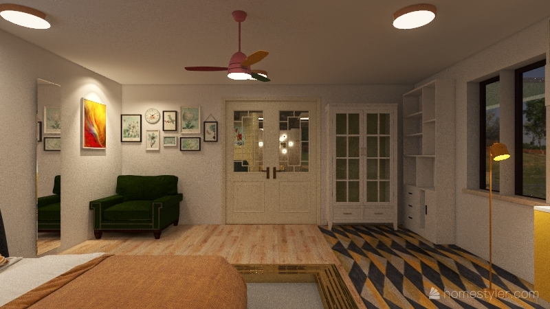 Tiny House 3.0 Interior Design Render