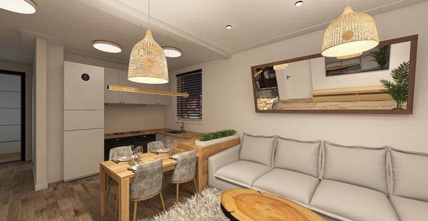 salon1 Interior Design Render