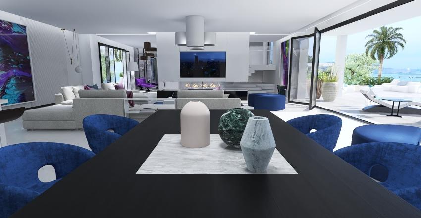 Villa de Lujo Interior Design Render