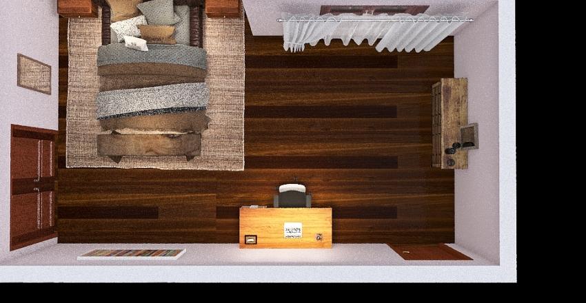 Flatt Bedroom Final March 16 Interior Design Render