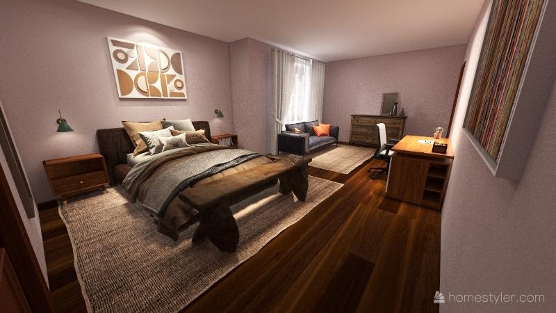Flatt Bedroom Final March 17 Interior Design Render