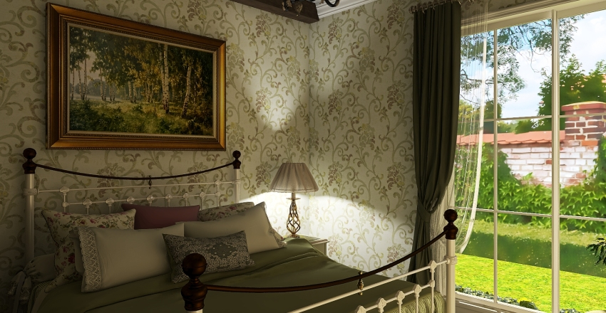 French Country Home Project Interior Design Render