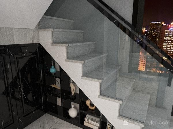 Maison moderne de deux étages(FRENCH) Interior Design Render