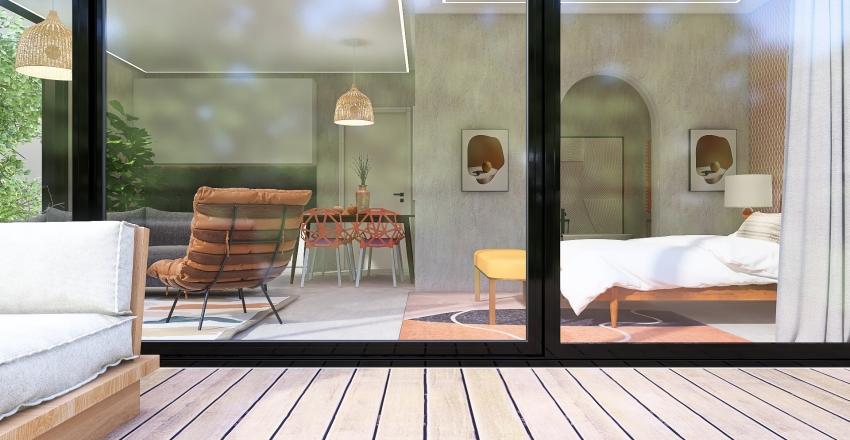 Tree top studio-Marigold  Interior Design Render