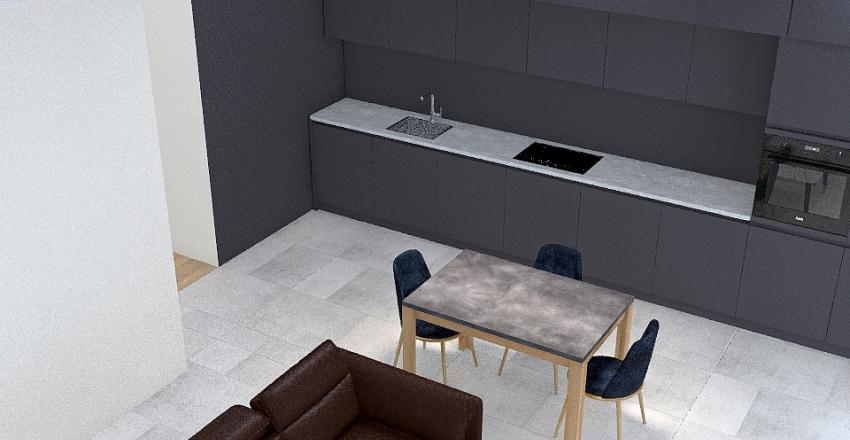 Новий дизайн кухні 25.04 Interior Design Render