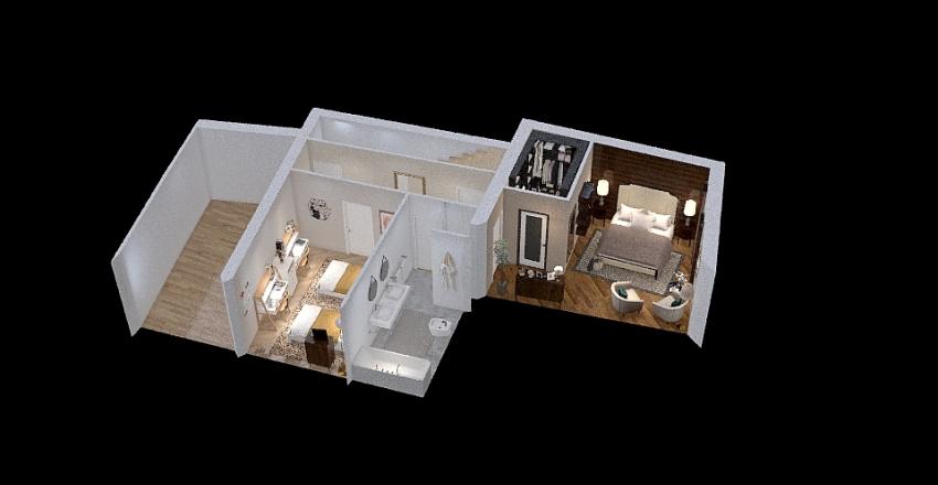 casa rigotti Interior Design Render