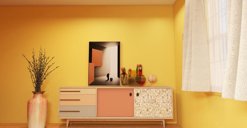 Marigold Color Model Collection Interior Design Render