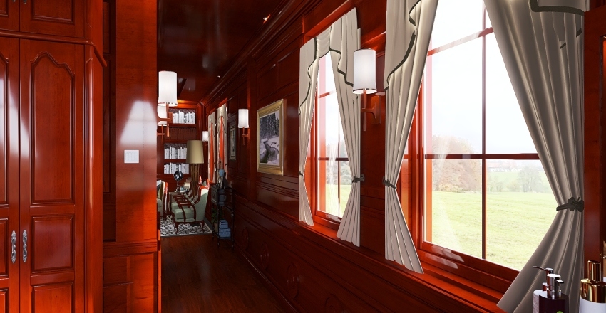 Traditional Interior Design Render