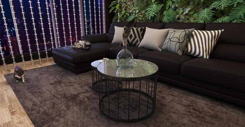 Modern and black? Interior Design Render