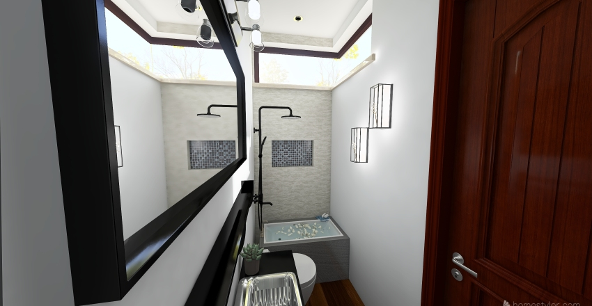 bano iluminacion Interior Design Render