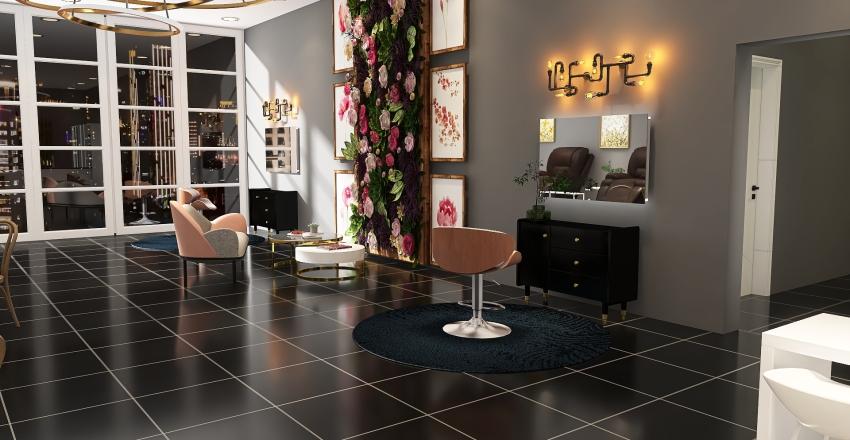 Spa Day Interior Design Render