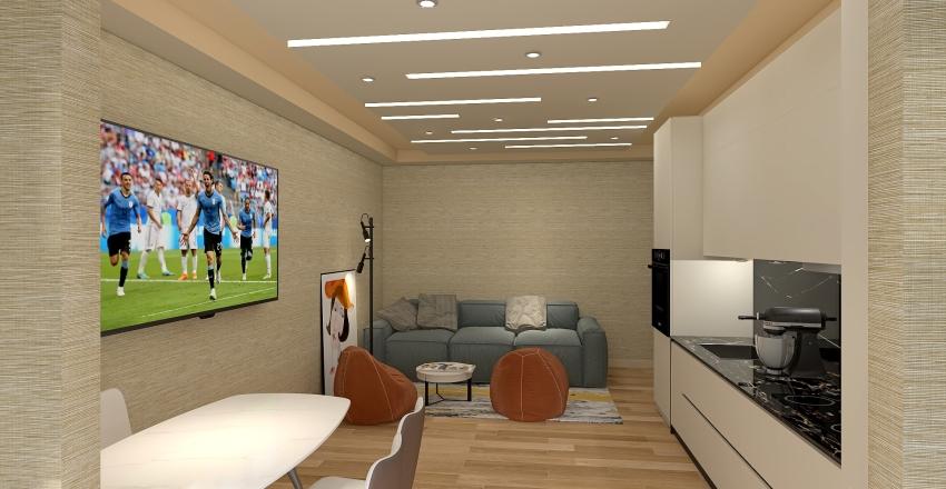 Meri Flat Interior Design Render