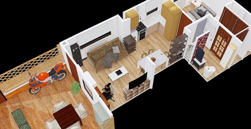 casa avenida septima Interior Design Render