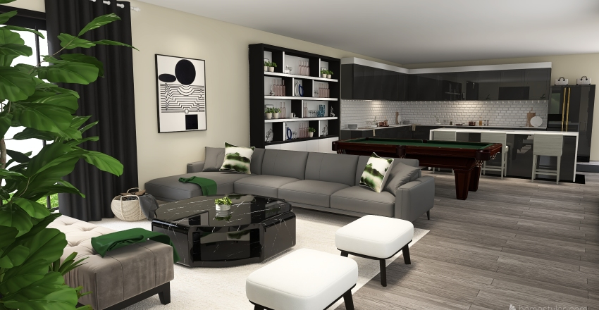 First House Design Interior Design Render