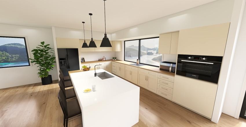 casa moderna Interior Design Render