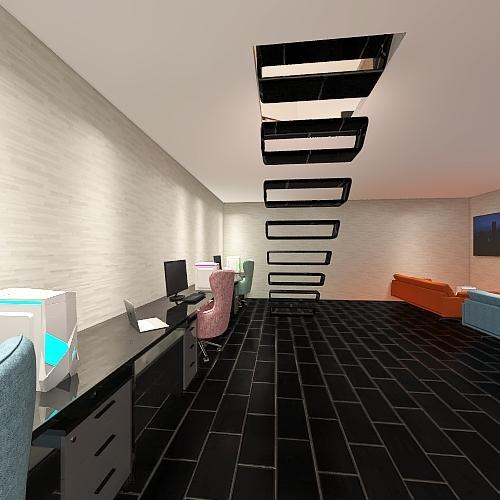 JUBU House Interior Design Render
