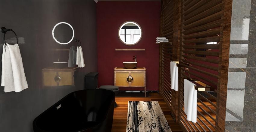 Thai Studio Suite Interior Design Render
