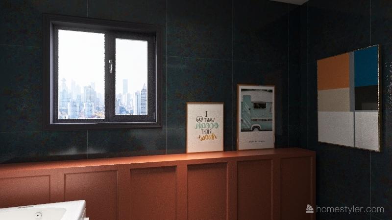 Tiny Little House 2.0 Interior Design Render